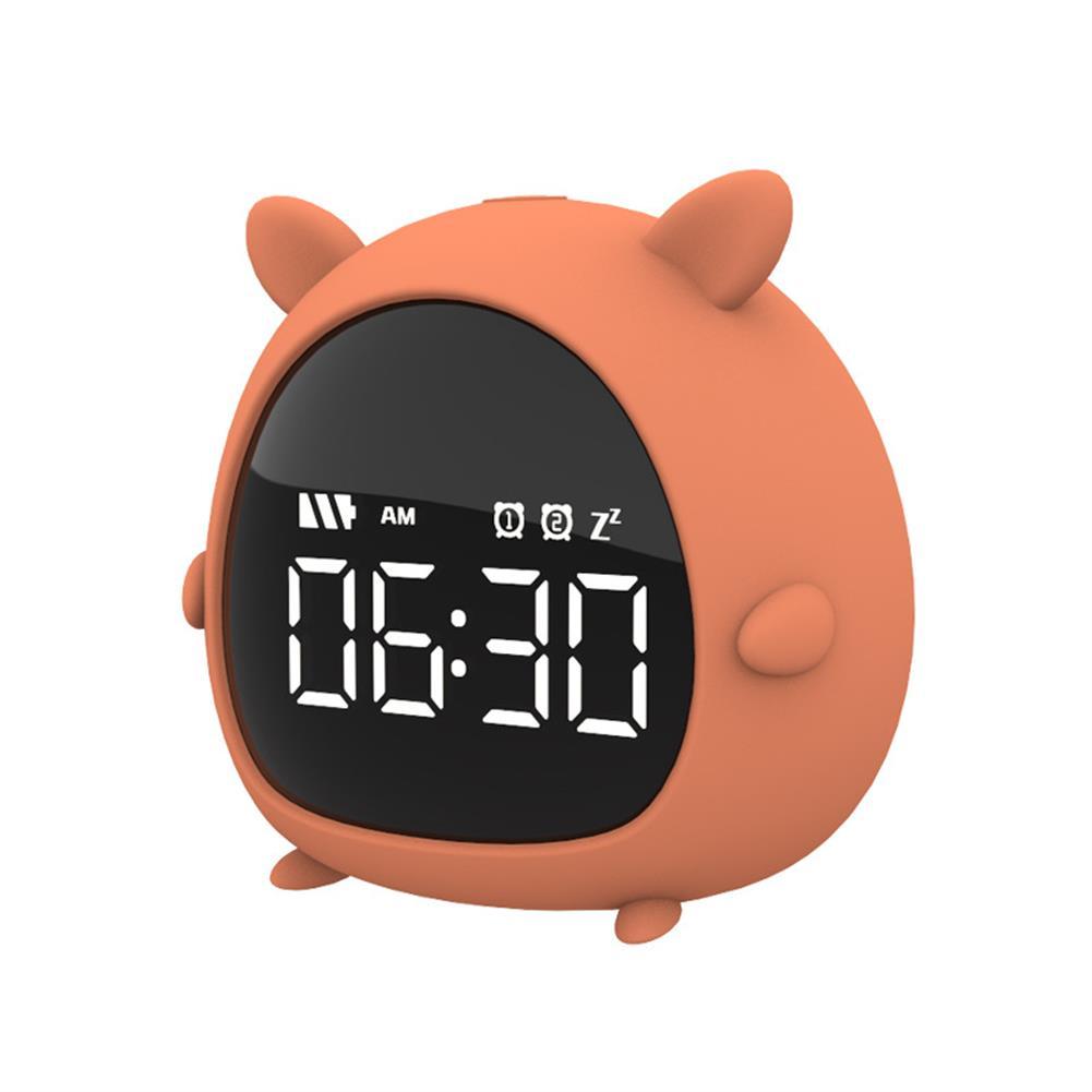 desktop-off-surface-shelves Little Elf Alarm Clock Digital LED Table Alarm Clock Snooze Countdown Rechargeable Cartoon Clock HOB1607885 1