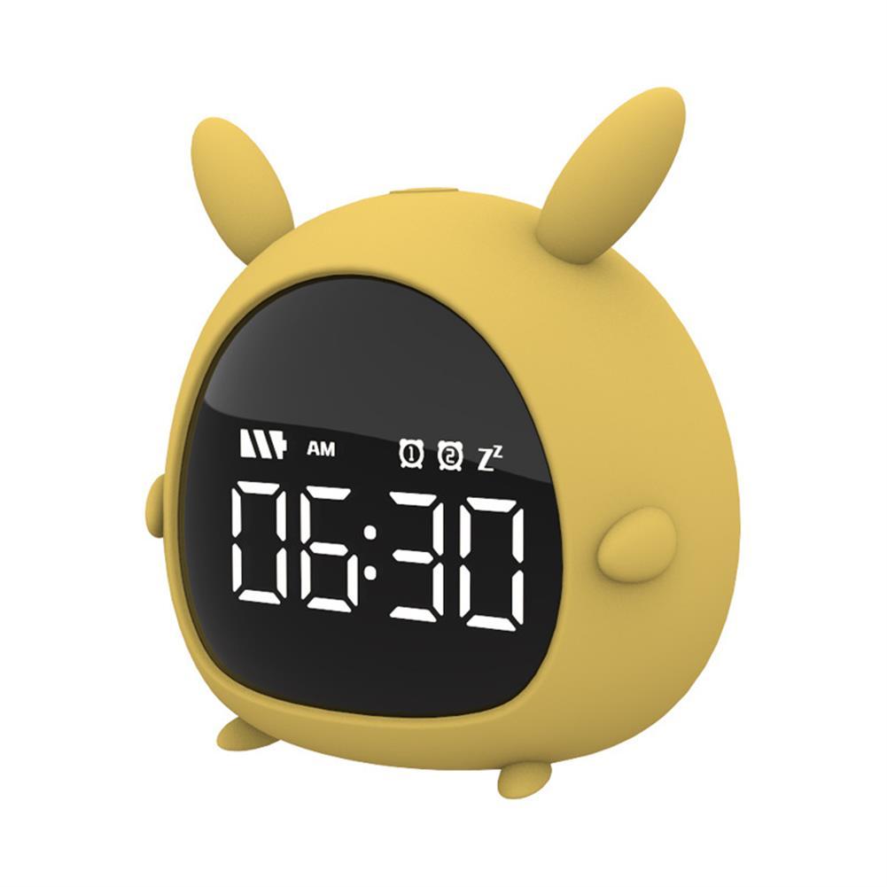 desktop-off-surface-shelves Little Elf Alarm Clock Digital LED Table Alarm Clock Snooze Countdown Rechargeable Cartoon Clock HOB1607885 2 1
