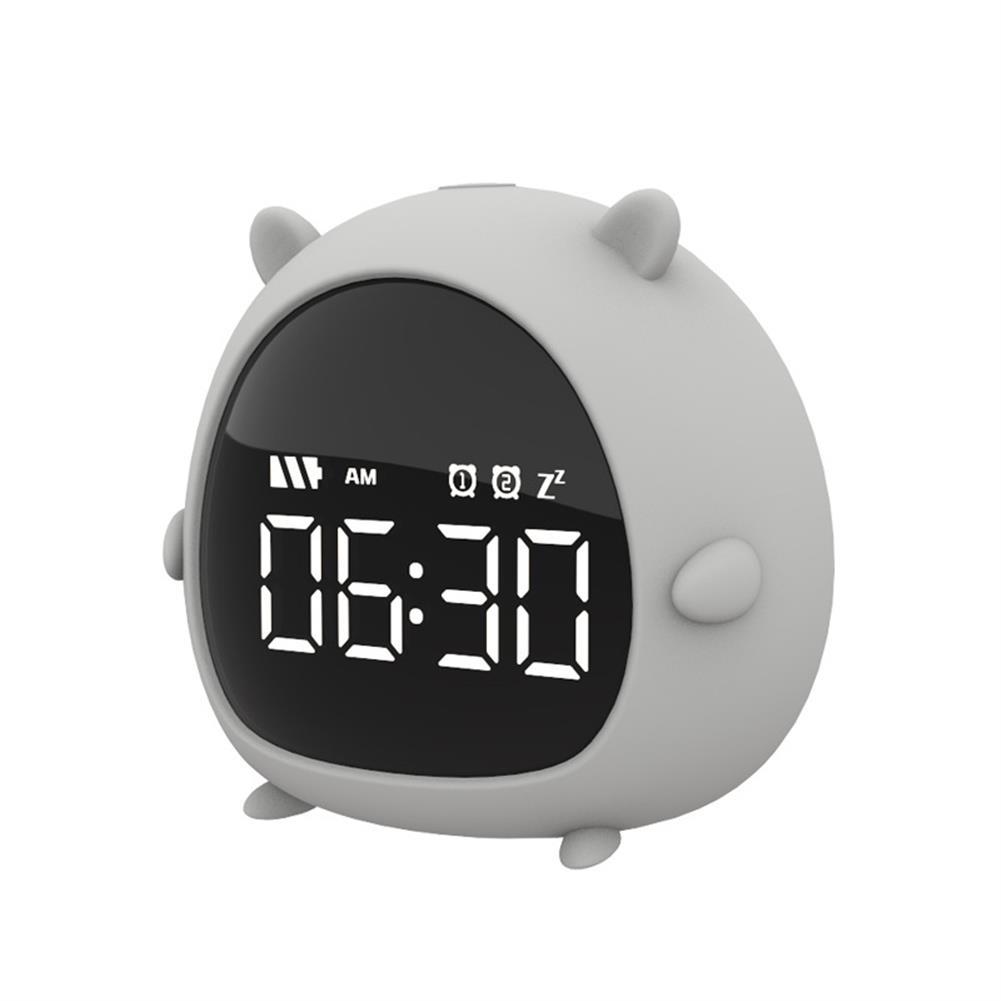 desktop-off-surface-shelves Little Elf Alarm Clock Digital LED Table Alarm Clock Snooze Countdown Rechargeable Cartoon Clock HOB1607885 3 1