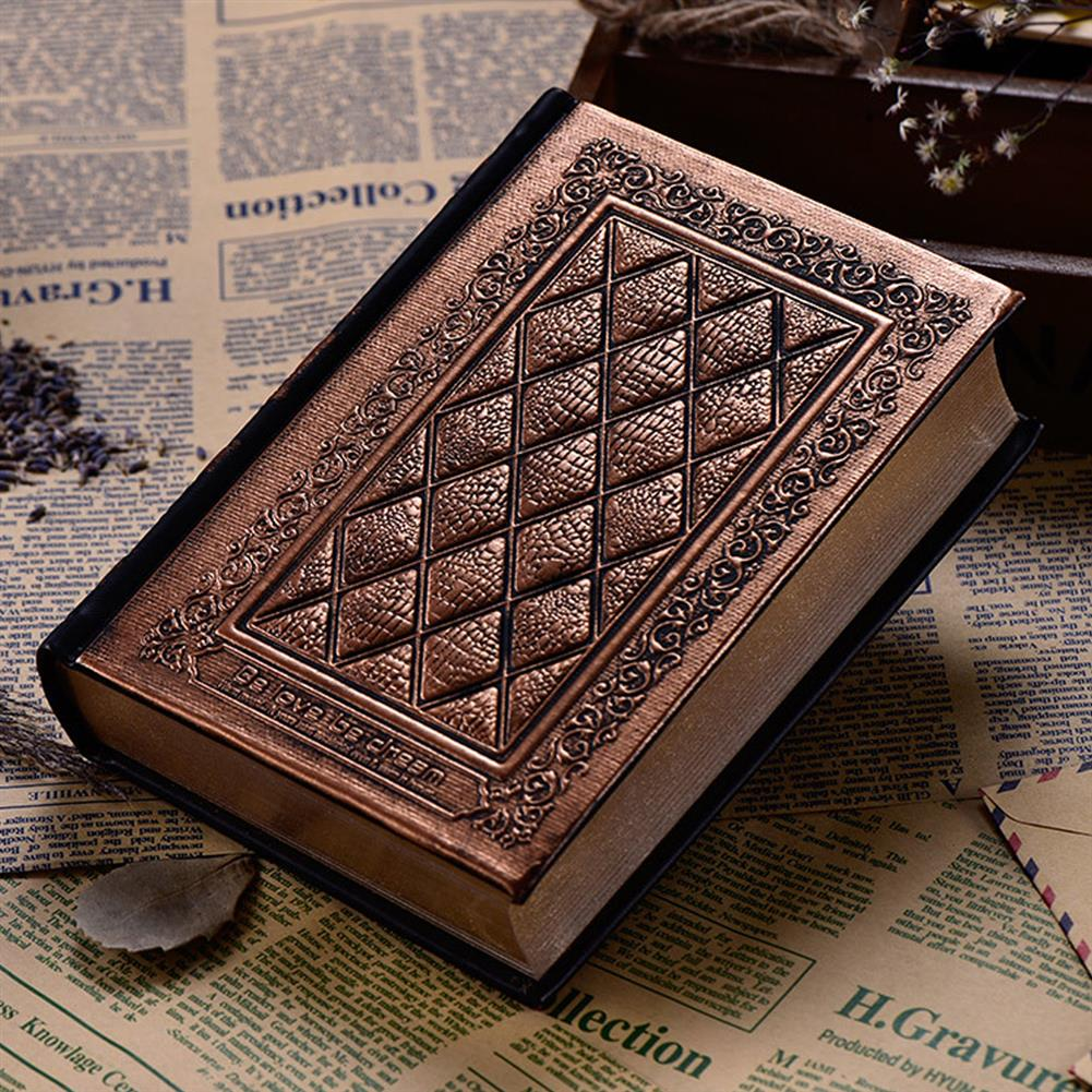 paper-notebooks Large Thicken Diary Notebook Leather Vintage Embossed Cover Notepad office School Stationery HOB1608100 1 1