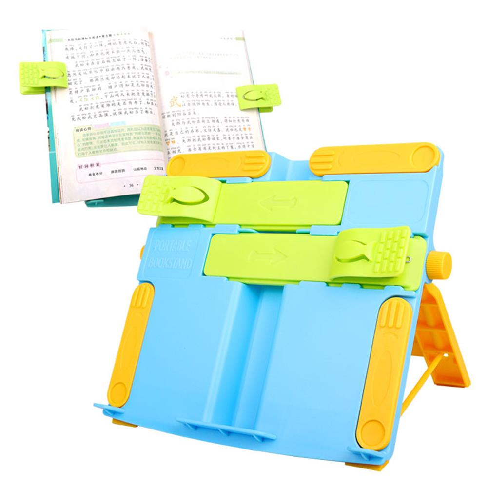 gel-pen Portable Book Stand Bookends Reading Books Bracket Recipes Shelf Folding Holder Organizer HOB1608623 1