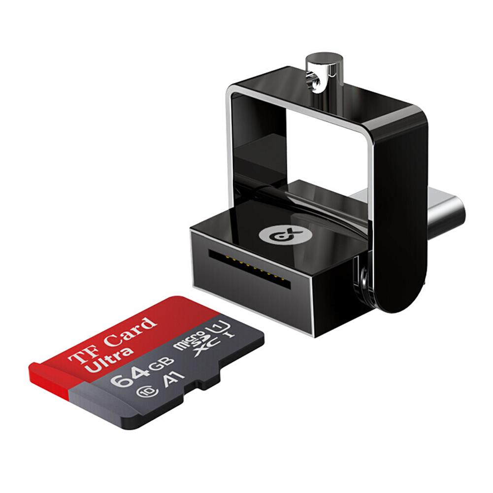 card-readers Biaze A18 Mini Type-C Card Reader for Mobile Phone Notebook Camera TF Memory Card HOB1609000 1 1