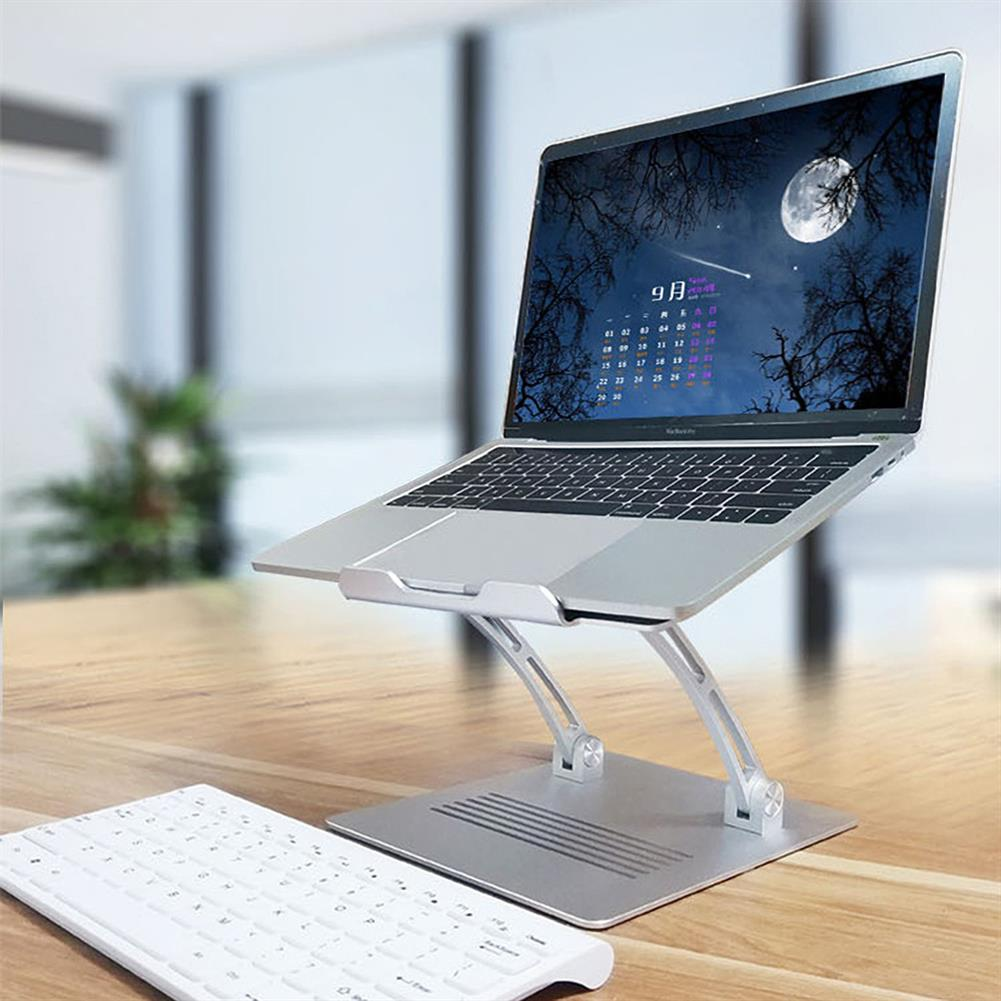 laptop-stands SENZANS Sit to Stand Laptop Stand with Keyboard Tray Laptop Bracket Portable Adjustable Lifting Cooling Pad for 11-17.3 inch Laptops SE-S29-1 HOB1610202 1