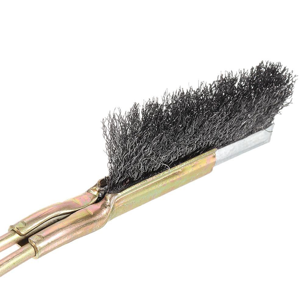 3d-printer-accessories 1Pcs Nozzle Cleaning Brush Stainless Steel Bristles Cleaning Tool for 3D Printer HOB1610272 2 1
