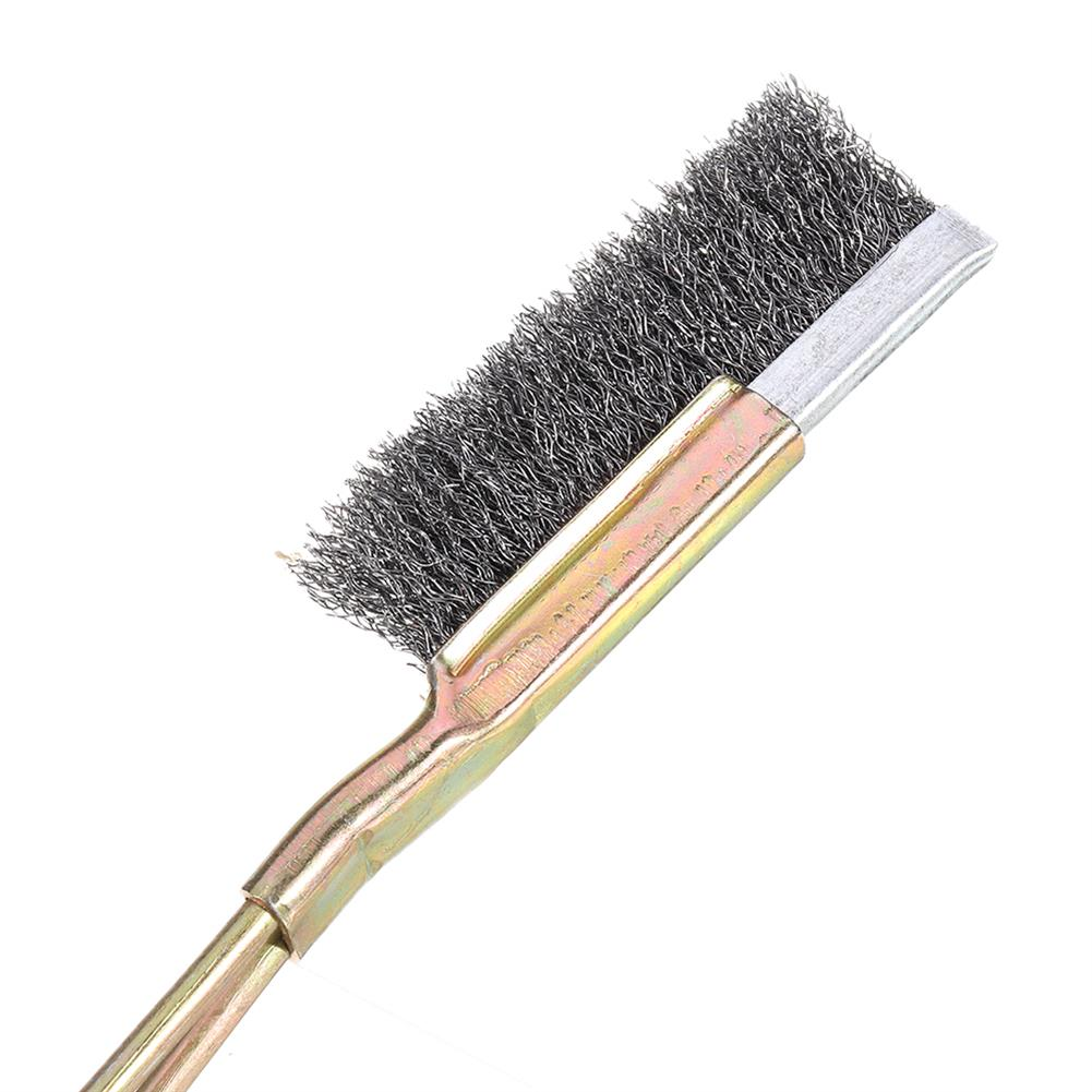 3d-printer-accessories 1Pcs Nozzle Cleaning Brush Stainless Steel Bristles Cleaning Tool for 3D Printer HOB1610272 3 1