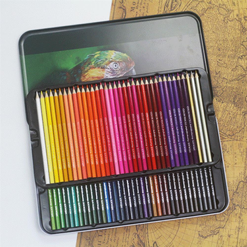 pencil 12/24/36/48/72 Colors Oil Colored Pencils Set Artist Painting Sketching Wooden Color Pencil School Art Supplies HOB1610905 1
