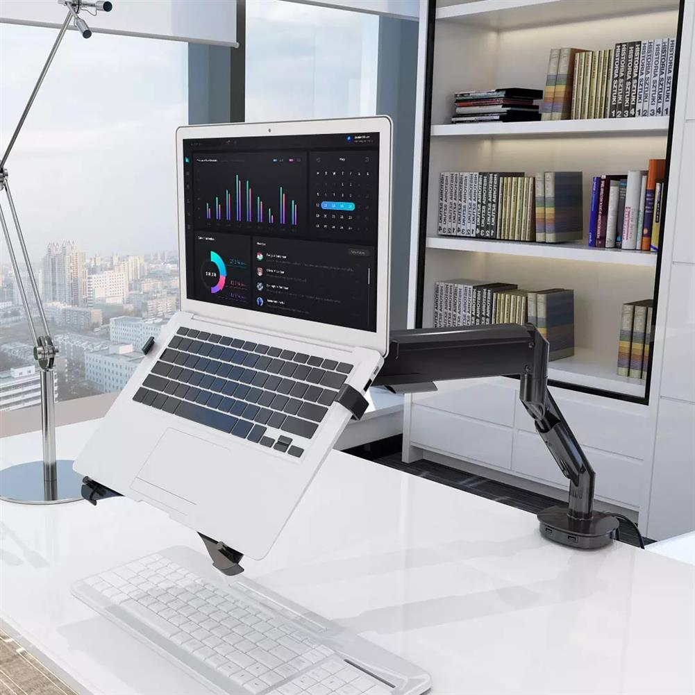 laptop-stands Loctek DA1 Universal Notebook Tray Laptop Holder Monitor Stand for Laptops within 17 inch HOB1611448 1 1