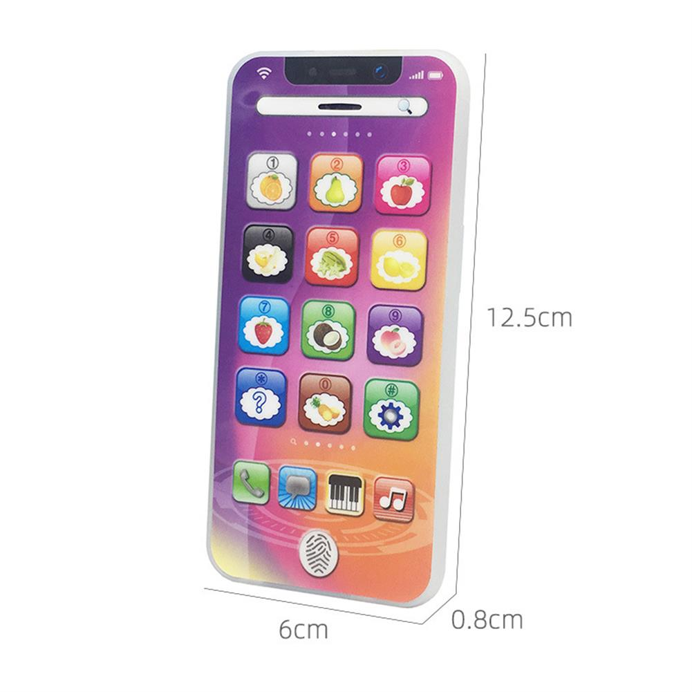 gel-pen XILAN 0828 Smart Toy Phone with 8 Fun and Learning Functions Early Education Machine Toys English Learning Mobile Phone Chrismtas Gifts for Kids HOB1612881 3 1
