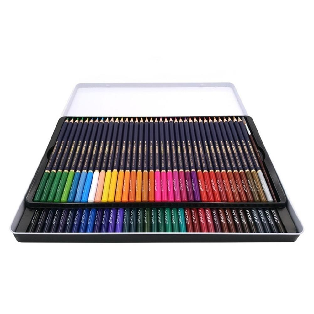 pencil 12/24/36/48/72 Color Pencils Set Dry Coloring Painting Pencil Water Soluble Color Pens Brush Painting Stationery for Artist HOB1615187 1