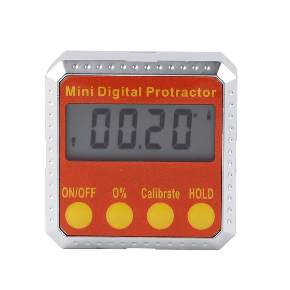 3d-printer-accessories Mini Digital Protractor 360 Degree Multi Function inclinometer Protractor for BLV Mgn Cube 3D Printer Printing Platform HOB1616611 2 1