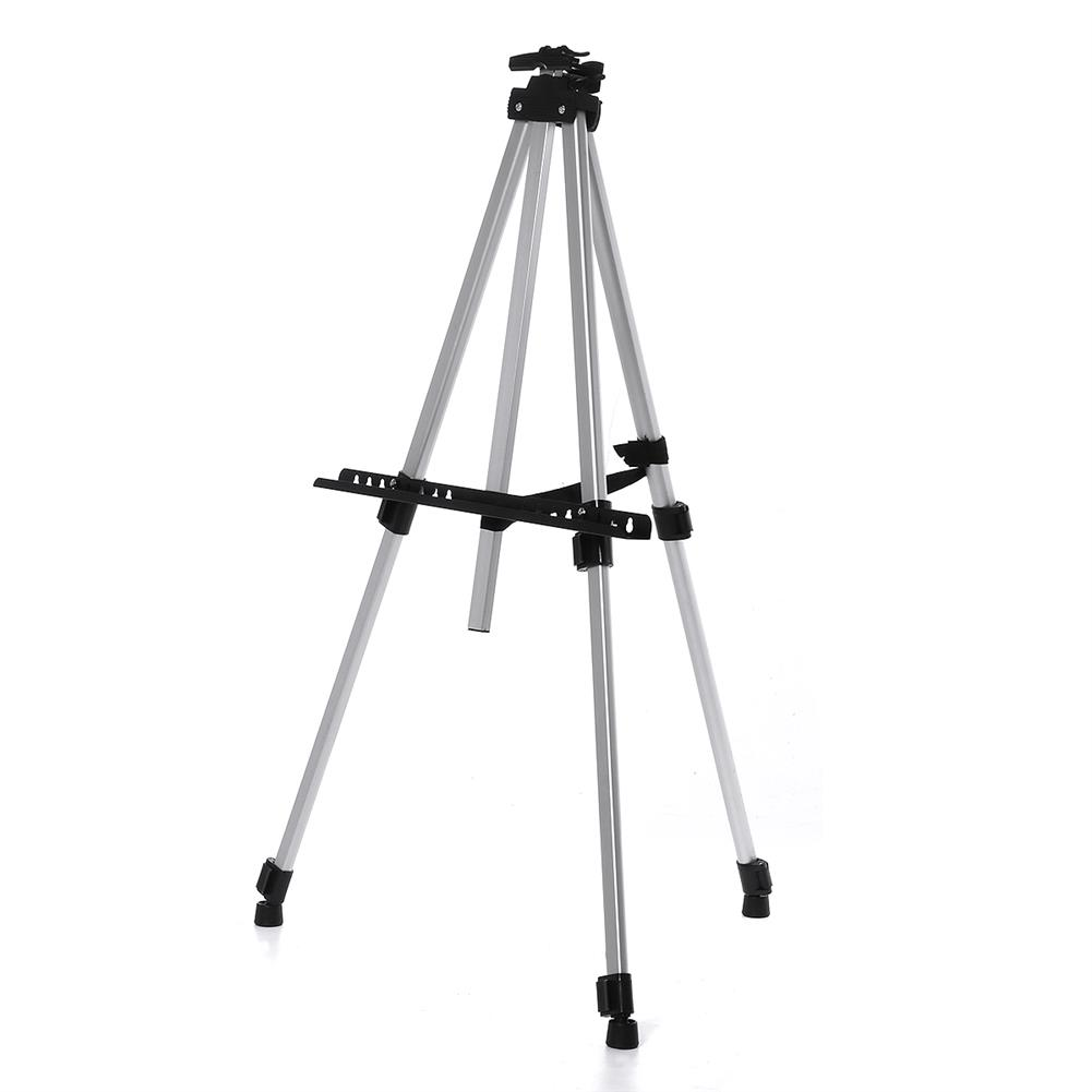 artboard-easel Foldable Aluminum Alloy Painting Tripod Painting Easel Telescopic Tripod Drawing Board Display Stand Sketching Rack with Storage Bag HOB1617513 1