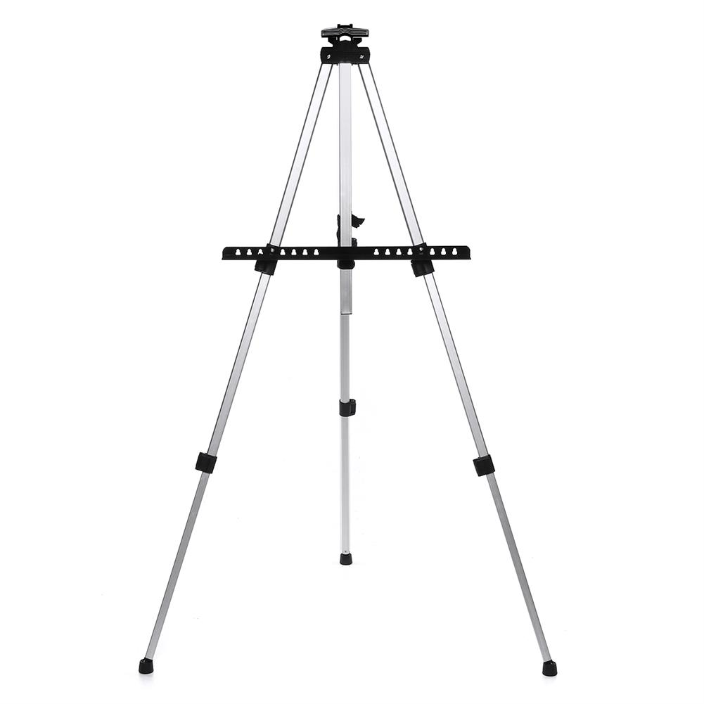 artboard-easel Foldable Aluminum Alloy Painting Tripod Painting Easel Telescopic Tripod Drawing Board Display Stand Sketching Rack with Storage Bag HOB1617513 1 1