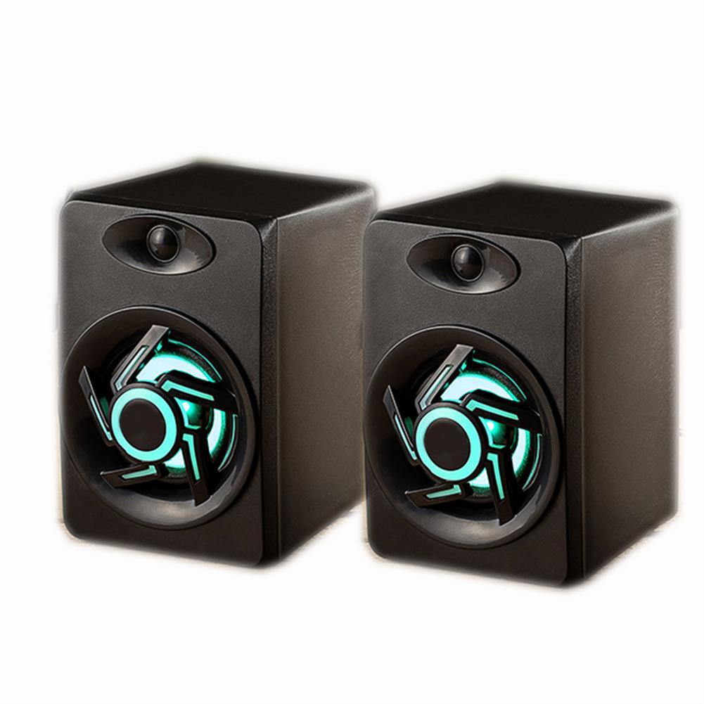 computer-speakers Mini Portable USB Muit Colorful Light Computer Subwoofer Speaker for Desktop Laptop PC MP3 Cell phone HOB1617855 1 1