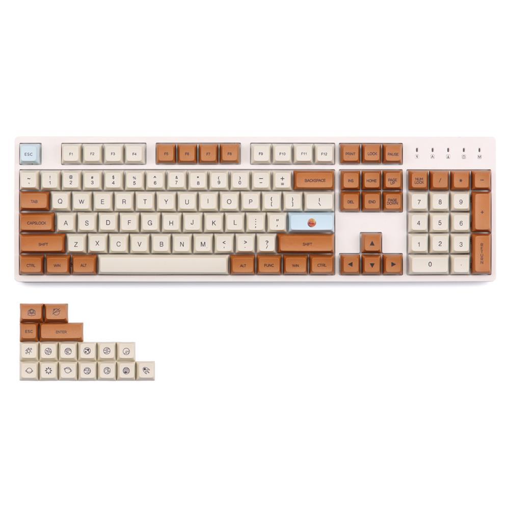 keycaps-switches KBDfans 121 Keys Mars Keycap Set XDA Profile PBT Sublimation Keycaps for Mechanical Keyboards HOB1617857 1