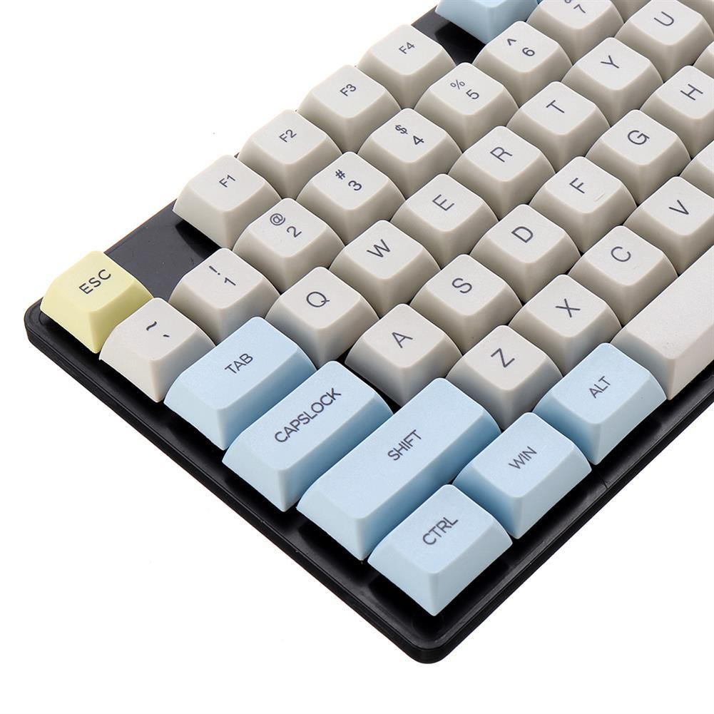keycaps-switches KBDfans Moon Landing Mars Keycaps XDA Sublimation PBT 2 Color 121 Keys Mechanical Keyboard Keycap HOB1617859 3 1
