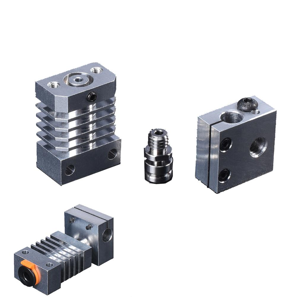3d-printer-accessories BIGTREETECH All Metal CR10 Heatsink Hotend All Kits Upgrade Part for CR-10 Ender3 3D Printer HOB1617927 1