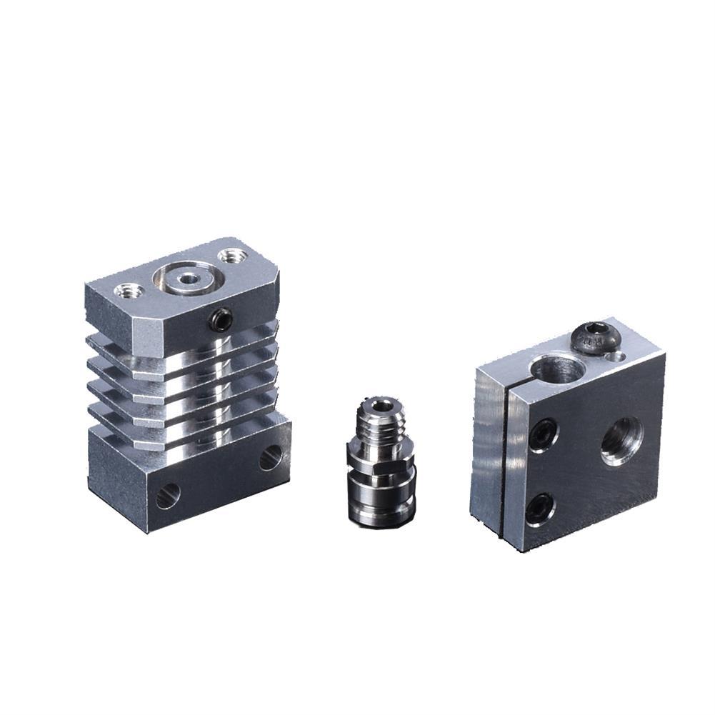 3d-printer-accessories BIGTREETECH All Metal CR10 Heatsink Hotend All Kits Upgrade Part for CR-10 Ender3 3D Printer HOB1617927 3 1
