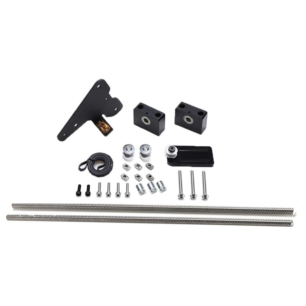 3d-printer-accessories Dual Z-axis Creality 3D Ender-3 Version Upgrade Kit with Single Stepper Motor Dual Z 10sion Pulley Set HOB1617973 1