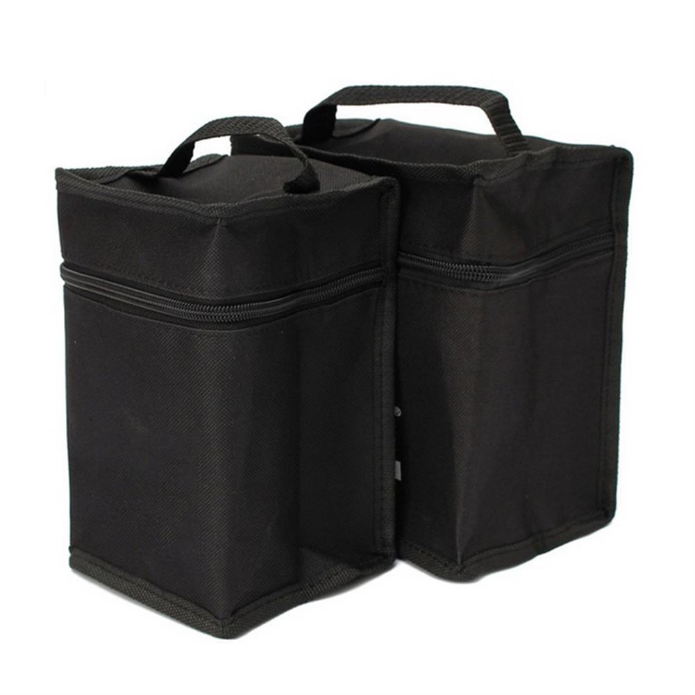 pencil-case Portable Marker Pen Bag for 24/36/48/60/80 Pcs Color Markers Square Large Capacity Zipper Canvas Storage Bag Pen Holder Case with Handle Art Painting Supplies HOB1625895 2 1