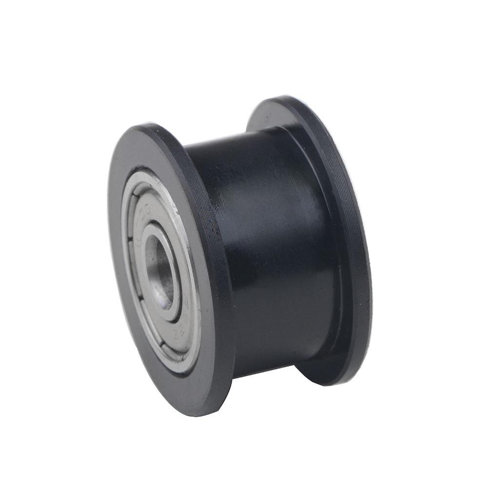 3d-printer-accessories TWO TREES 10Pcs Idler Pulley Wheels Kit POM Precise CNC for V-slot Smooth Idler Pulley with Bearing for 3D Printer HOB1626198 3 1