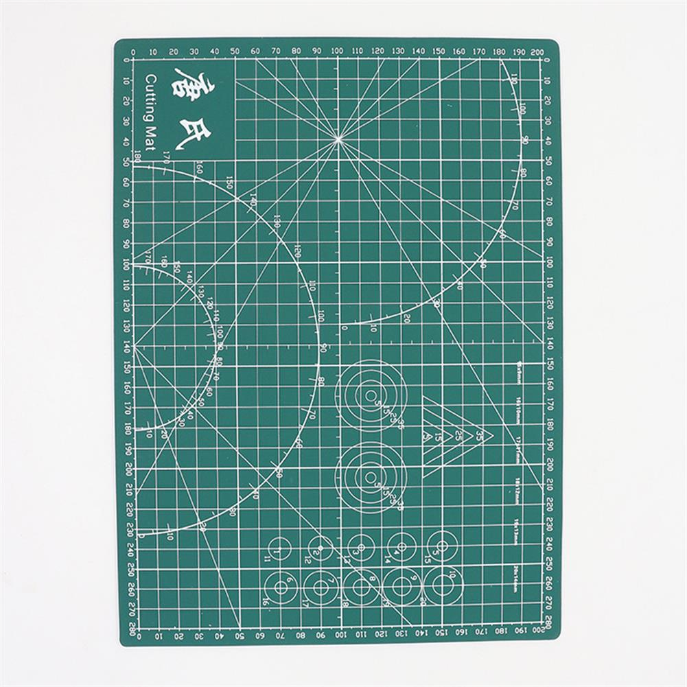 paper-cutter TANGSHI A4 Grid Self Healing Cutting Mat Durable PVC Craft Card Fabric Leather Paper Cutting Board Patchwork Tools HOB1627605 2 1
