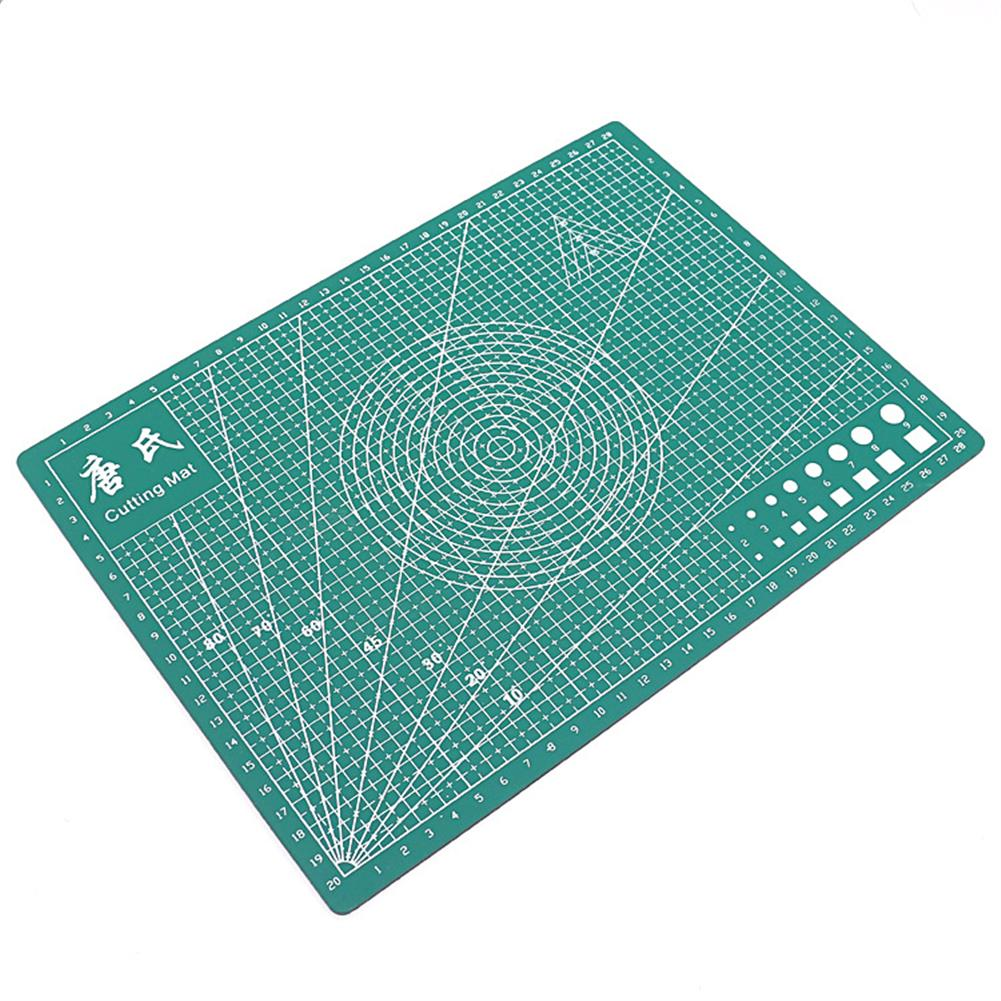 paper-cutter TANGSHI A4 Grid Self Healing Cutting Mat Durable PVC Craft Card Fabric Leather Paper Cutting Board Patchwork Tools HOB1627605 3 1