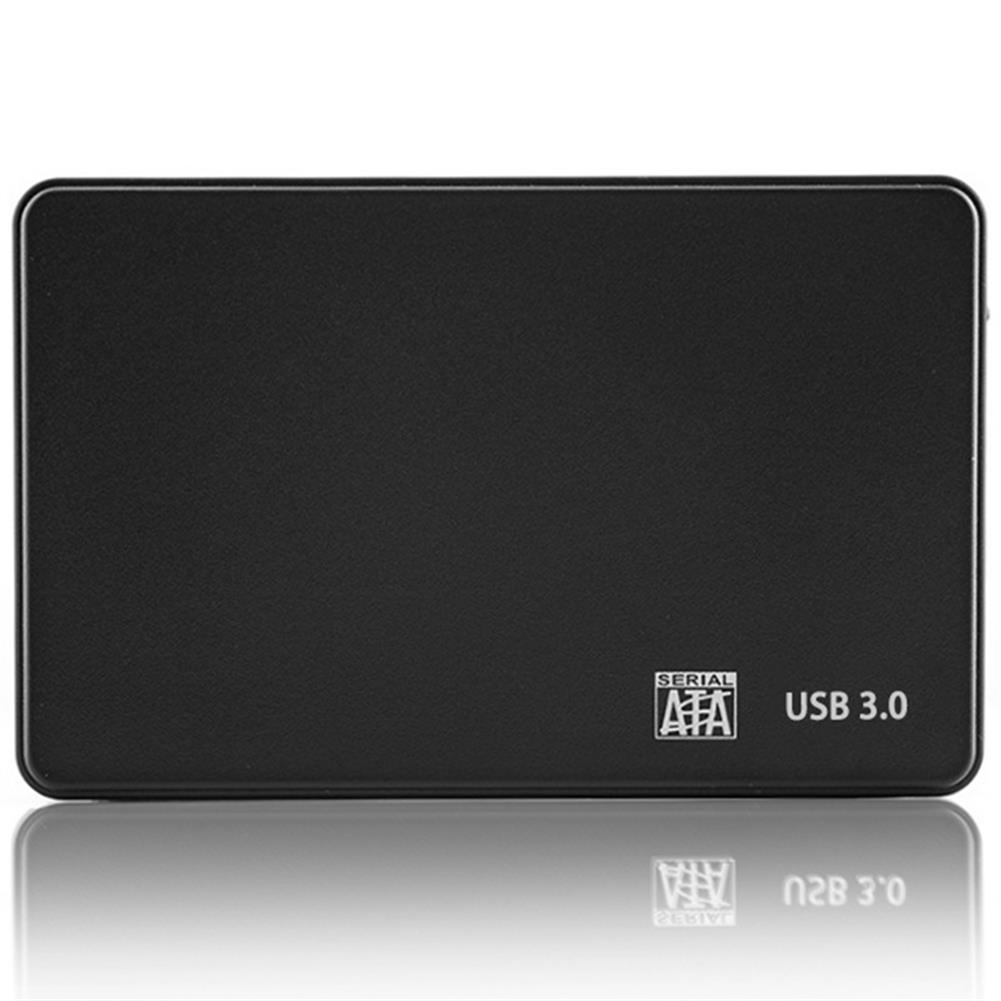 hdd-ssd-enclosures 2.5 inch HDD SSD Enclosure Sata to USB 3.0 Adapter Free 5Gbps Box Hard Drive Case Support 2TB HDD Disk for Windows Mac HOB1629010 1 1