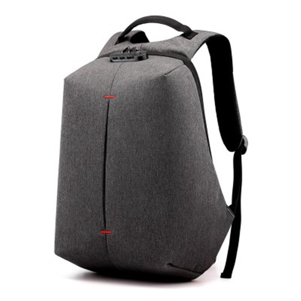 laptop-bags, cases-sleeves Carsonkangaroo USB Chargering Password Backpack 20-35L Large Capacity Outdoor Waterproof Men Business Laptop Bag HOB1630923 1 1