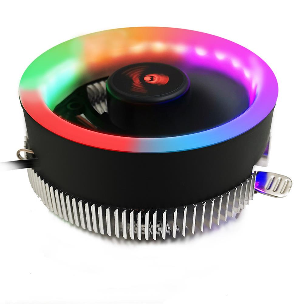 fans-cooling Coolmoon LED CPU Cooling Fan for intel 775/1156 for AMD AM2 AM2+ AM3 AM3+ HOB1633737 1 1
