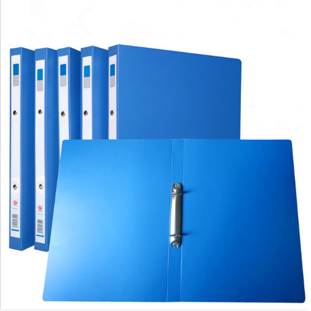 desktop-off-surface-shelves 1 Piece A4 Blue File Folder 2 Holes O-shape Ring Binder Document Folder Desktop File Organizer office School Supplies HOB1635349 1 1