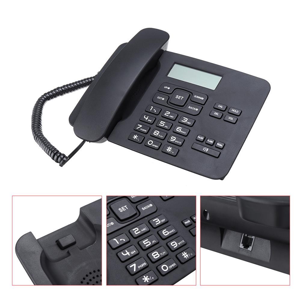 attendance-machine KX-T7001 Desktop Corded LCD Telephone Business office Home Fixed Phone Landline Telephone HOB1636865 1 1