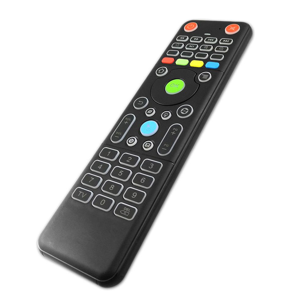 air-mouse TZ18 2.4GHz 6-axis Gyro Air Mouse Mini Wireless Keyboard Dual-sided Handheld Remote Control Sensor for TV Box PC HOB1637497 1 1