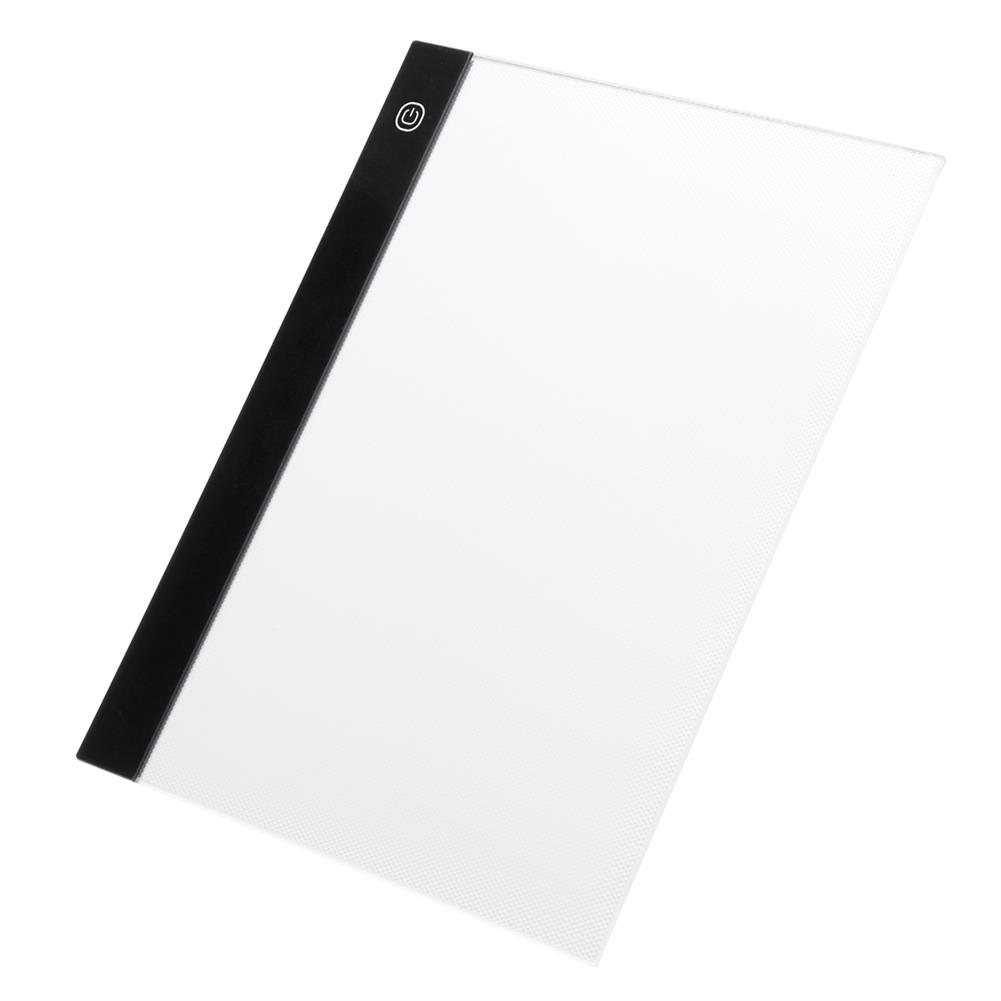 graphics-tablets A4 Tracing Copy Board Graphics Tablet Art Craft Sketch Drawing Board Tattoo Slim LED Light Box Board Pad with USB Cable HOB1637930 1 1