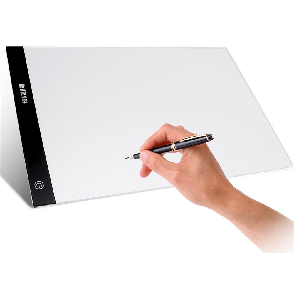 graphics-tablets A4 LED Tracing Copy Board Graphics Tablet Light Artist USB Drawing Board Art Sketch Board Light Box HOB1638512 1