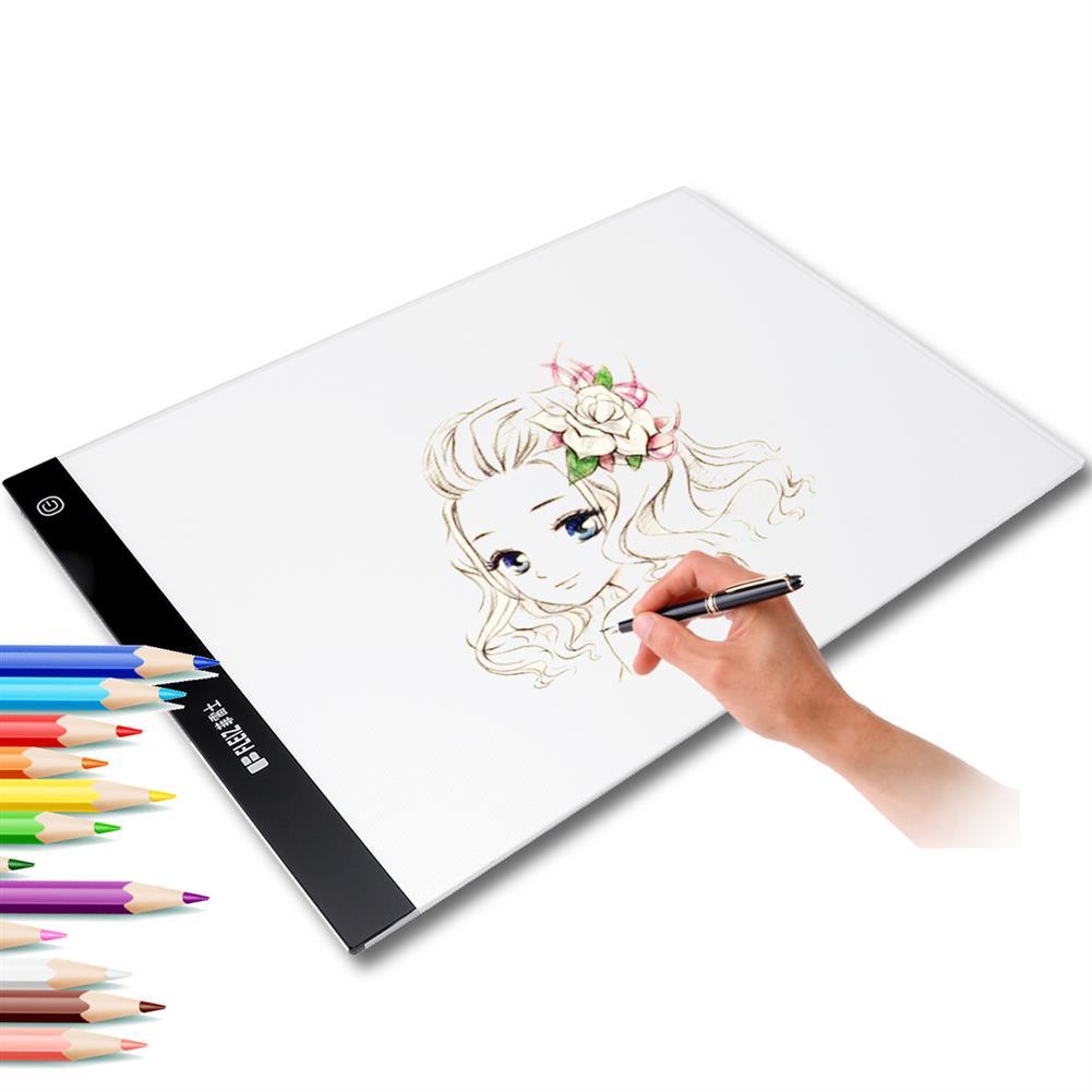 graphics-tablets A4 LED Tracing Copy Board Graphics Tablet Light Artist USB Drawing Board Art Sketch Board Light Box HOB1638512 1 1