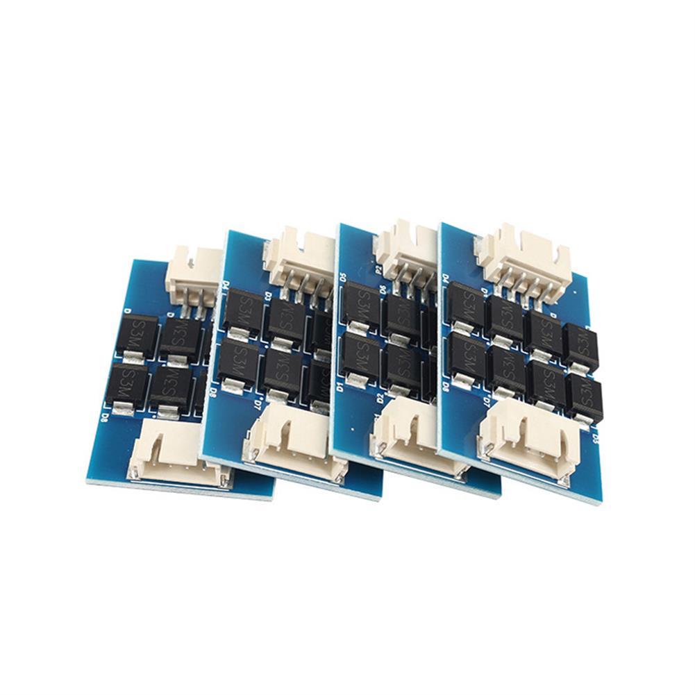 3d-printer-accessories 4PCS TL-smoother V2 Addon Module Stepper Motor Driver Signal Filter Stabilizer Module for Reprap Pursa I3 3D Printer with Heat Sink HOB1639202 3 1