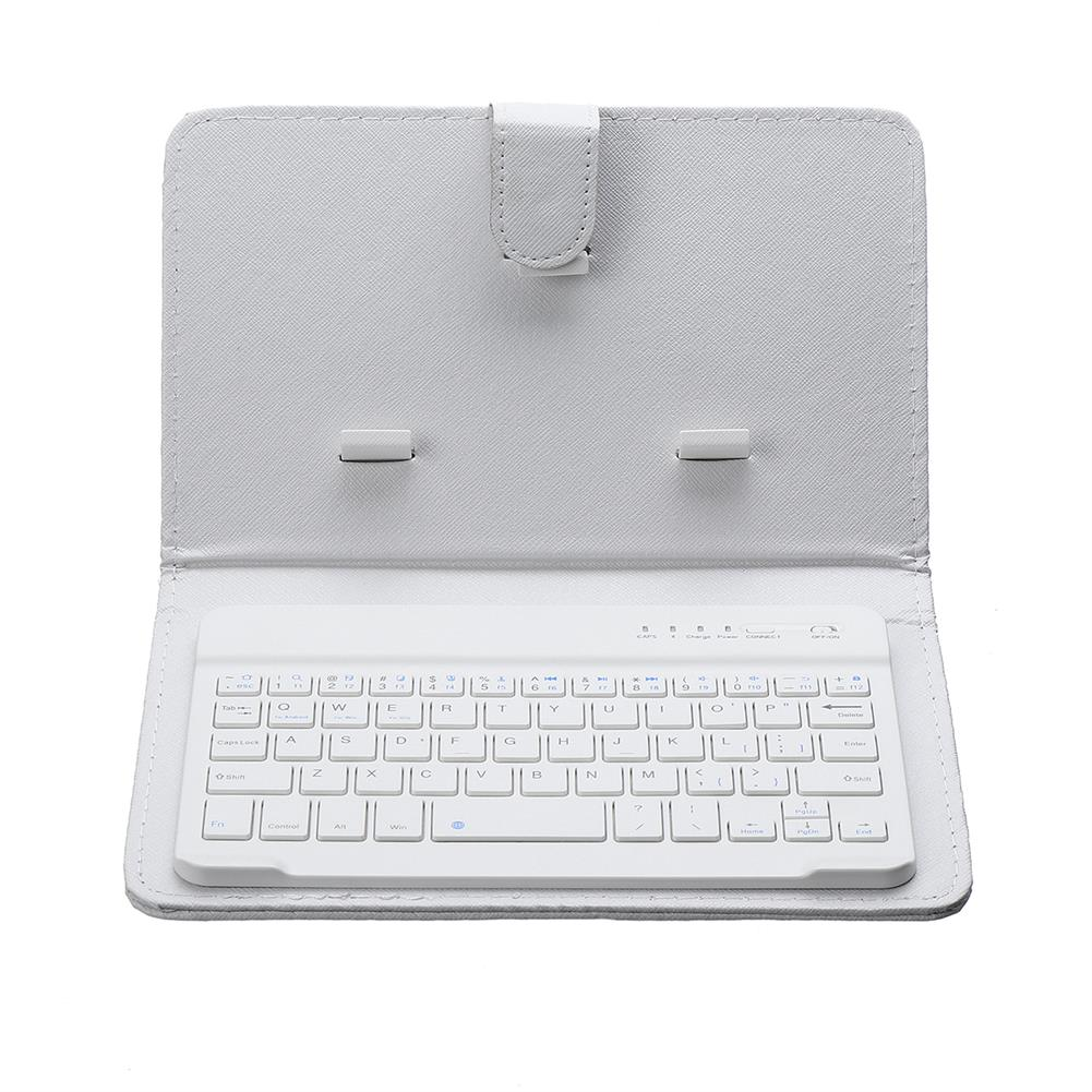 tablet-keyboards-mouses Portable PU Leather Wireless bluetooth Keyboard Case Holder for Smartphone Tablet HOB1639921 1