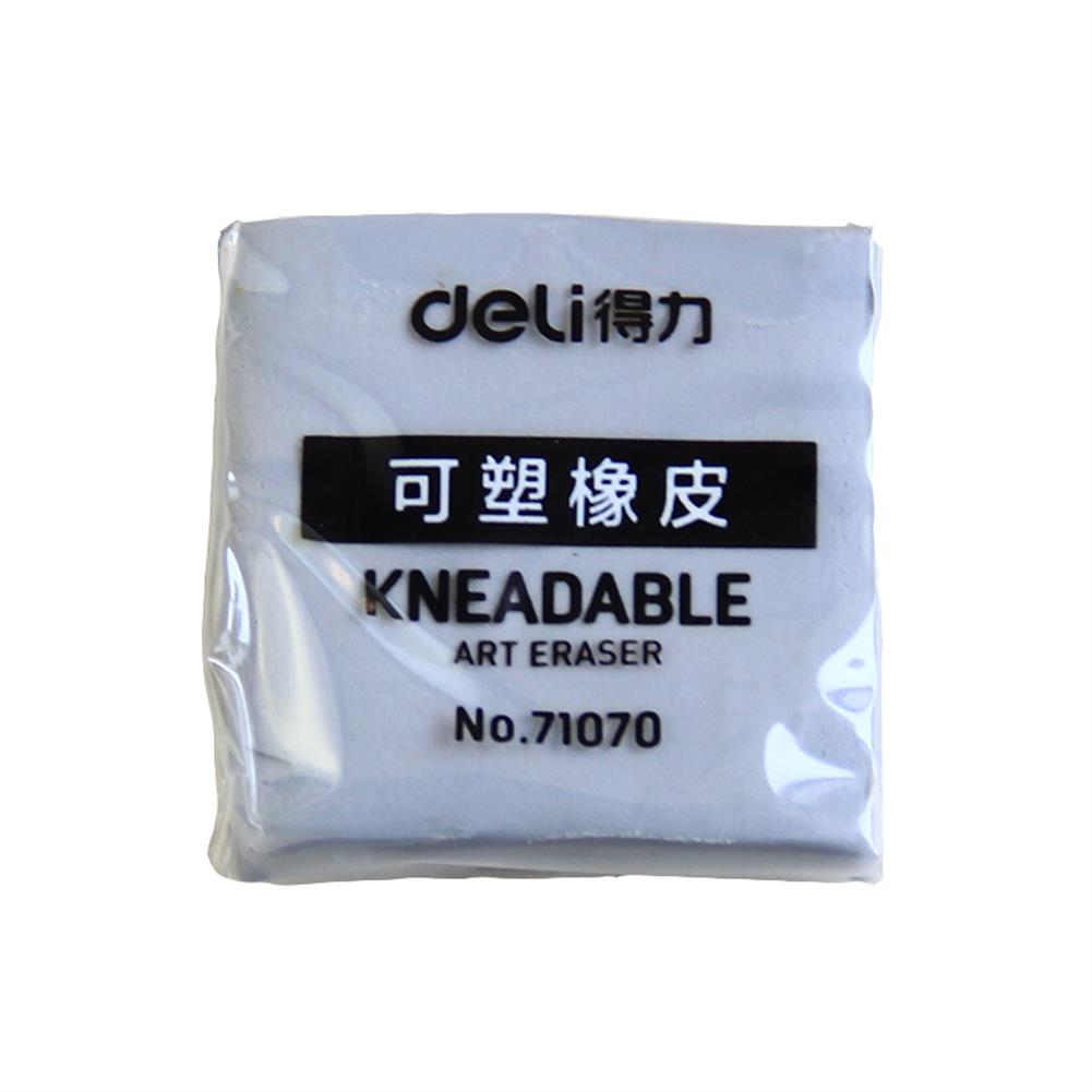 ordinary-rubber Deli 71070 Plastic Rubber Eraser Strong Stick Soft Kneadable Art Rubber Professional Drawing Sketch Eraser Stationery Painting Supplies HOB1639962 1 1