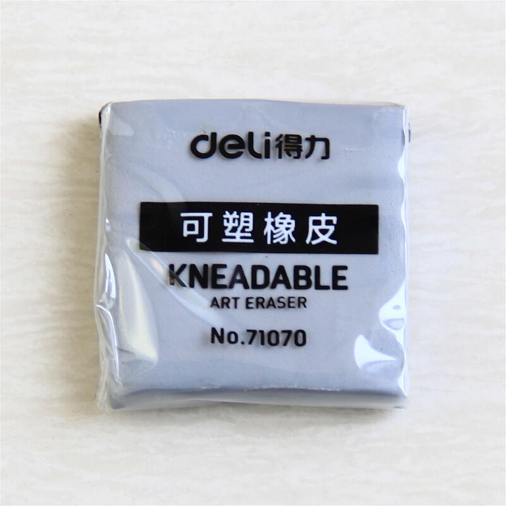ordinary-rubber Deli 71070 Plastic Rubber Eraser Strong Stick Soft Kneadable Art Rubber Professional Drawing Sketch Eraser Stationery Painting Supplies HOB1639962 2 1