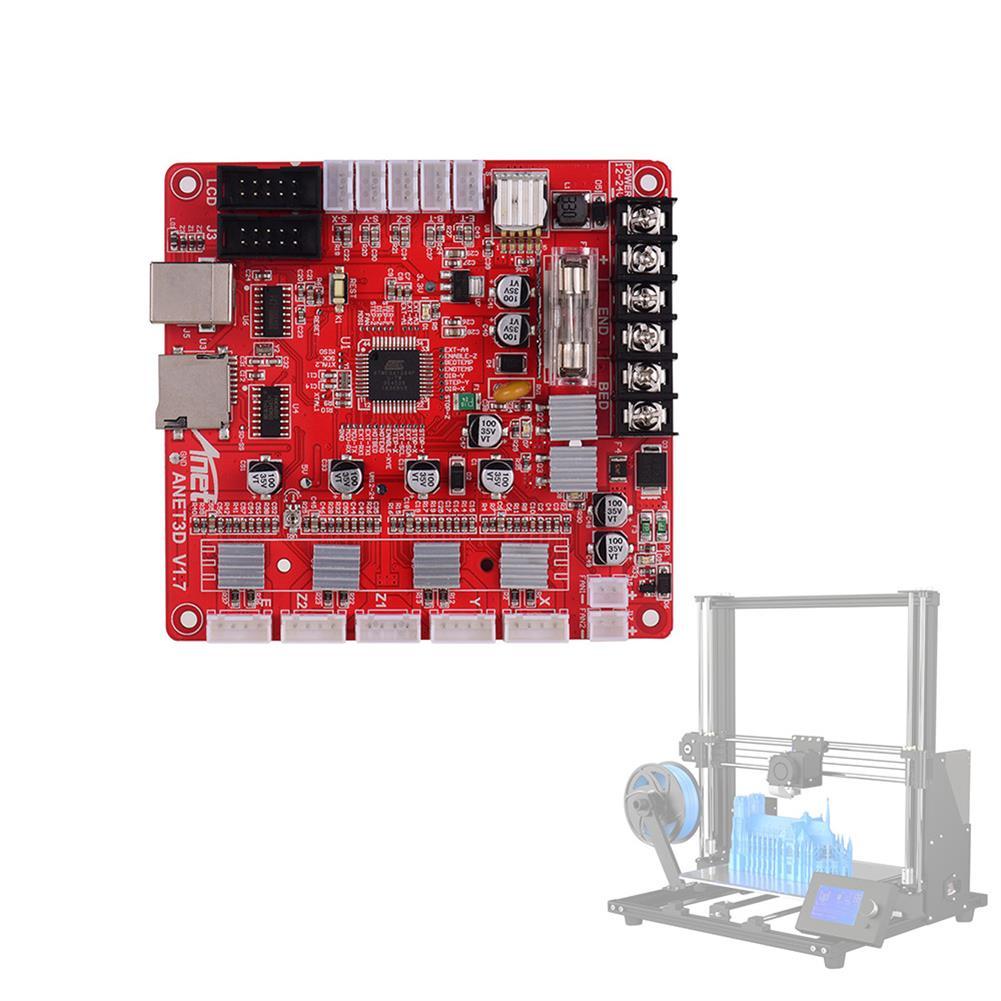 3d-printer-module-board Anet A8 Plus Mainboard A1284-Base V1.7 Base Control Board for RepRap 3D Printer Part HOB1639982 1