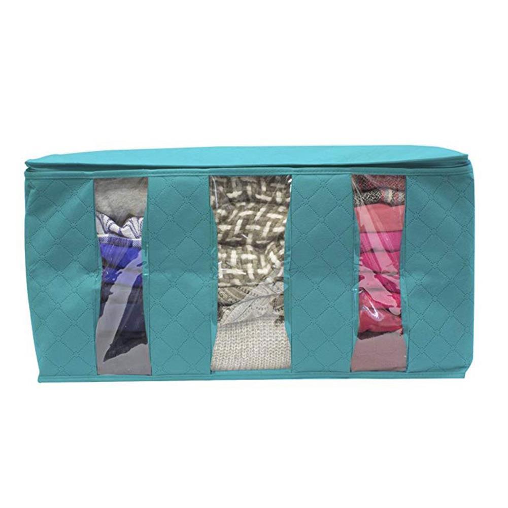 desktop-off-surface-shelves 1 Pcs Desktop Organizer Non-woven Space Saver Clothes Quilt Blanket Storage Bag Box Organizer Portable HOB1641094 1