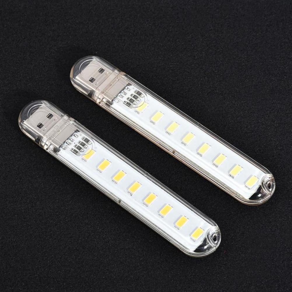 usb-gadgets Mini Light USB LED Lamp DC 5V 8 LED Camping Computer Portable Night USB Gadget Lighting for PC Laptop HOB1641621 1 1