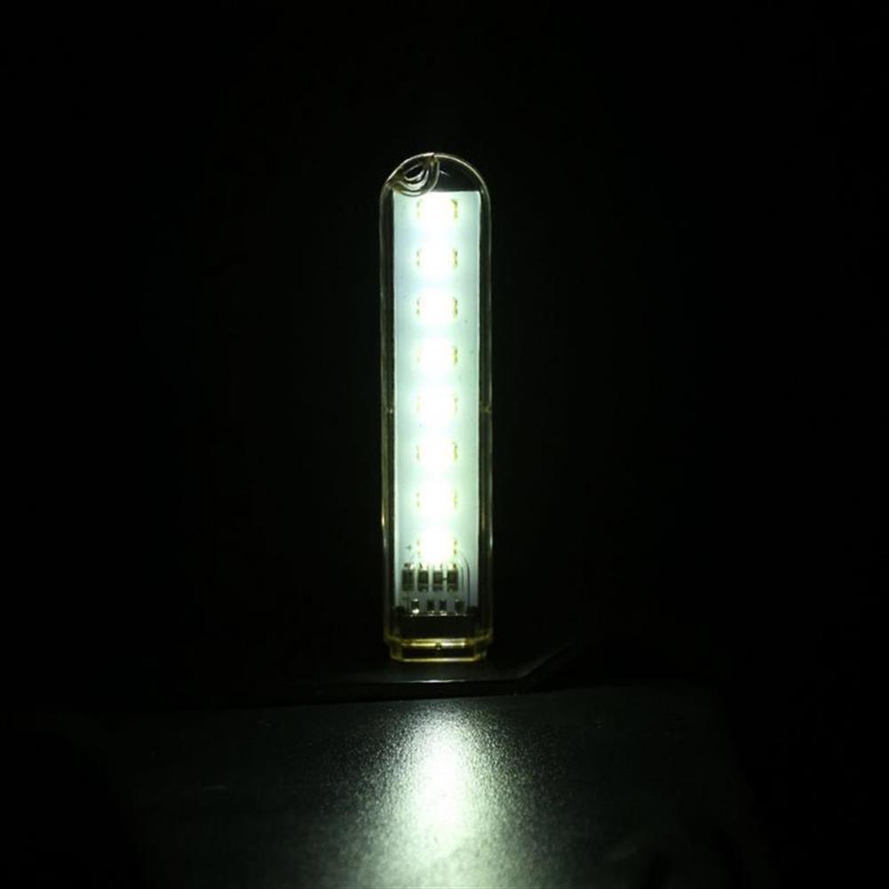 usb-gadgets Mini Light USB LED Lamp DC 5V 8 LED Camping Computer Portable Night USB Gadget Lighting for PC Laptop HOB1641621 3 1