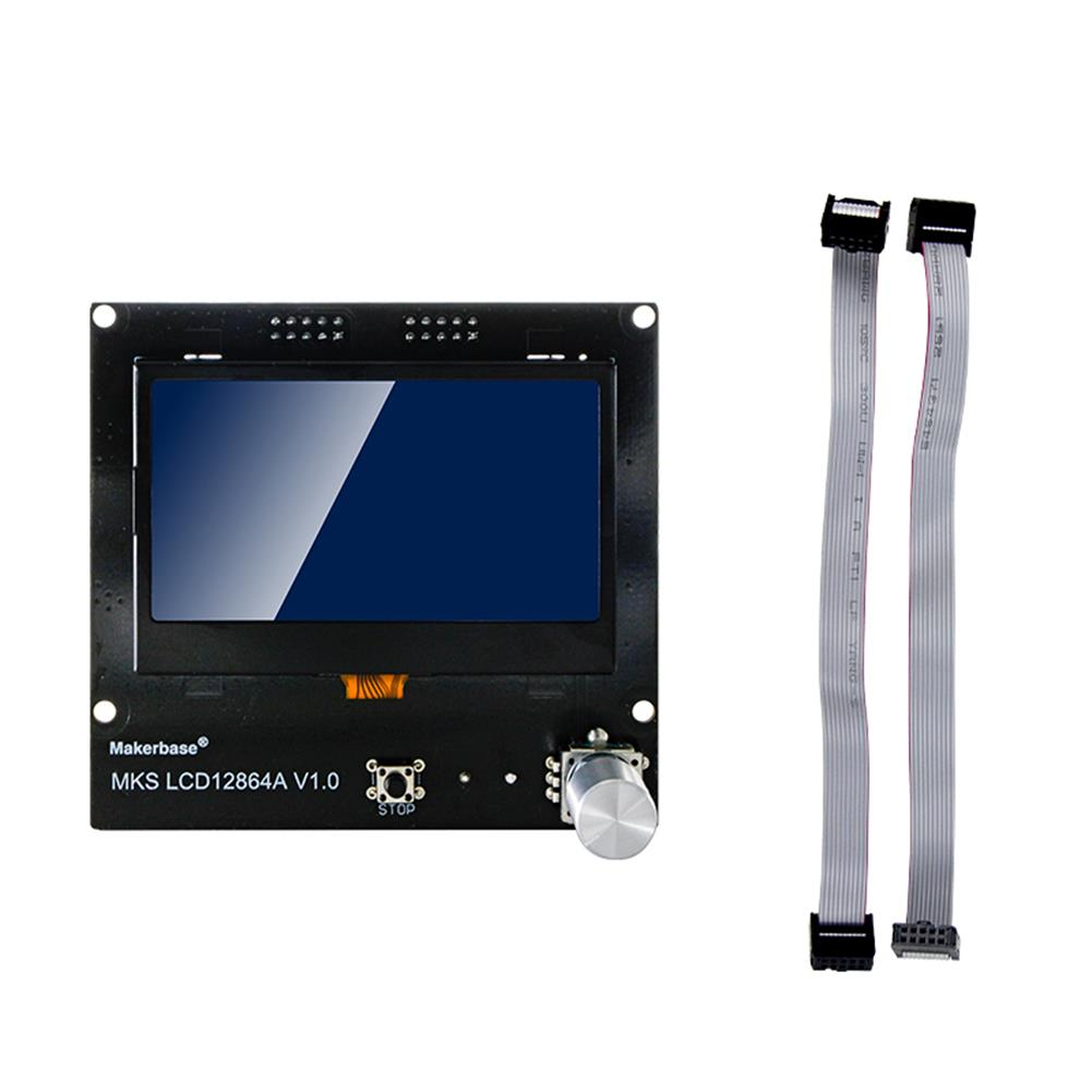 3d-printer-accessories MKS LCD12864A intelligent LCD Display Smart Display 3D Printer Part HOB1641870 1