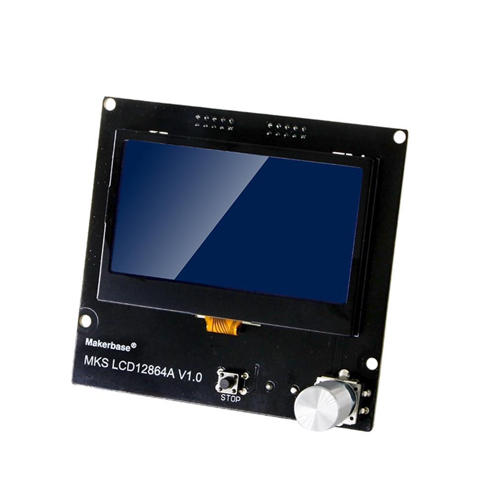 3d-printer-accessories MKS LCD12864A intelligent LCD Display Smart Display 3D Printer Part HOB1641870 1 1