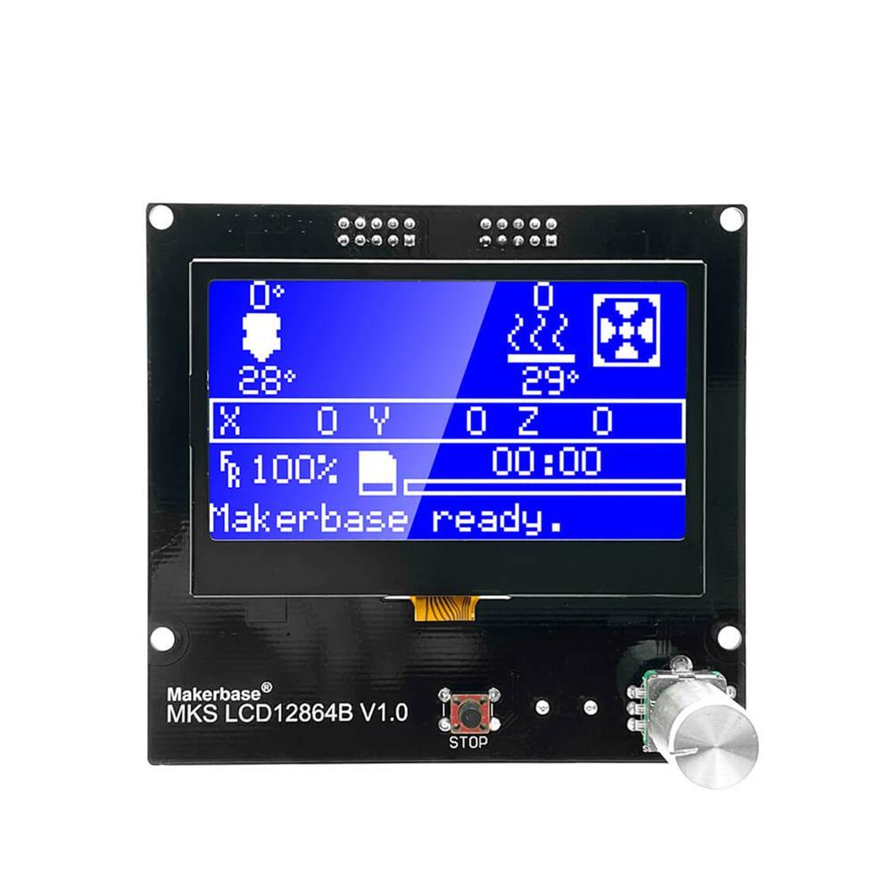 3d-printer-accessories MKS LCD12864B intelligent LCD Display Smart Display 3D Printer Part HOB1641871 1