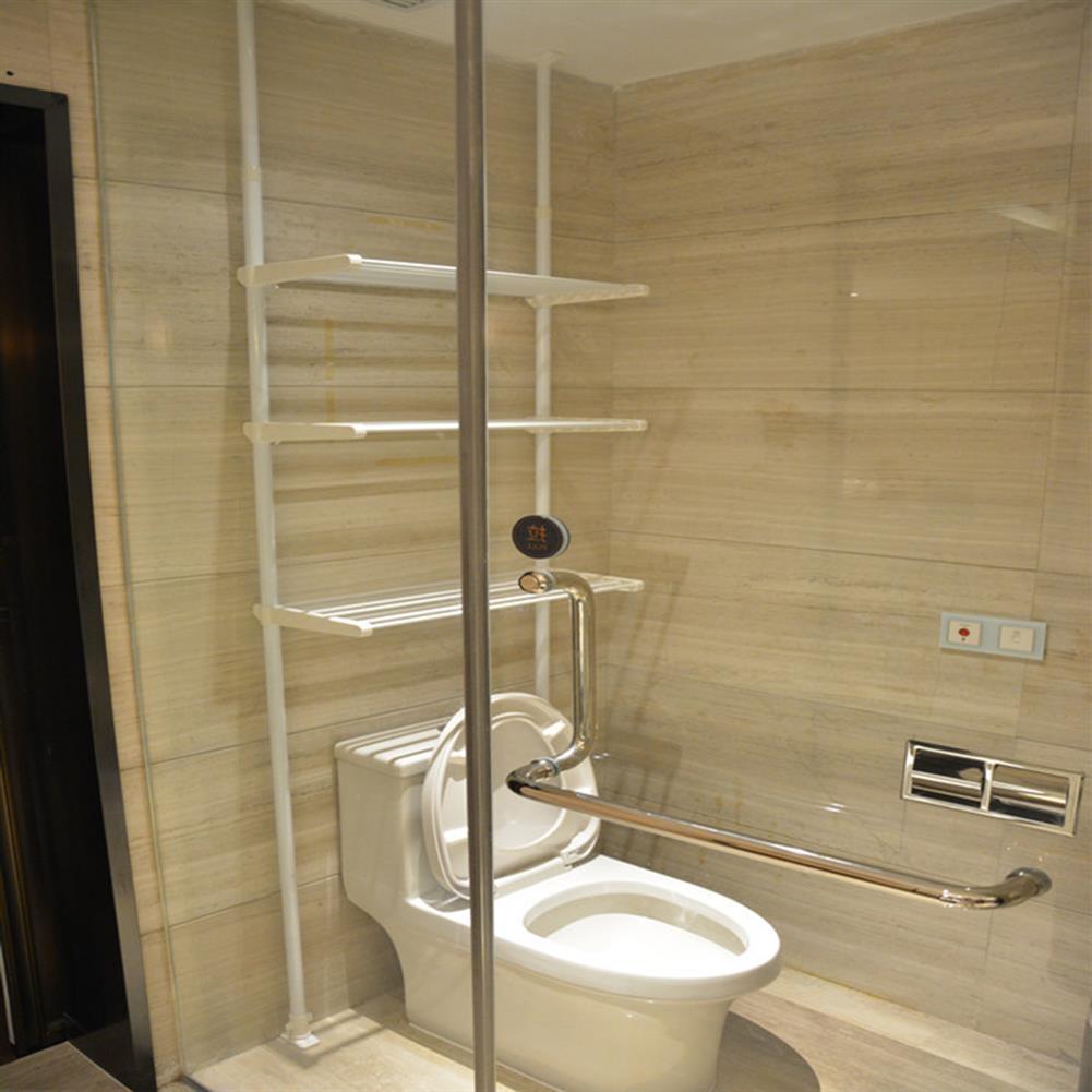 book-stands 3 Tiers Iron Bathroom Space Saving Storage Shelf Towel Clothes Storage Rack Bookshelf Organizer HOB1643104 1 1