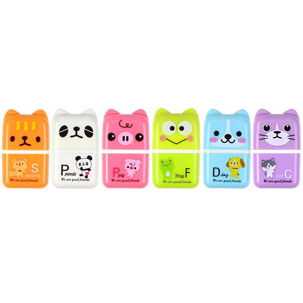 gel-pen 1 Piece Cute Cartoon Animal Roller Colorful Rectangle Eraser Rubber Students Stationery Kids Gifts School office Correction Supplies HOB1643551 1