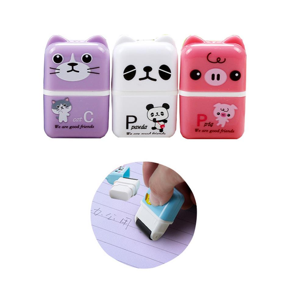 gel-pen 1 Piece Cute Cartoon Animal Roller Colorful Rectangle Eraser Rubber Students Stationery Kids Gifts School office Correction Supplies HOB1643551 1 1