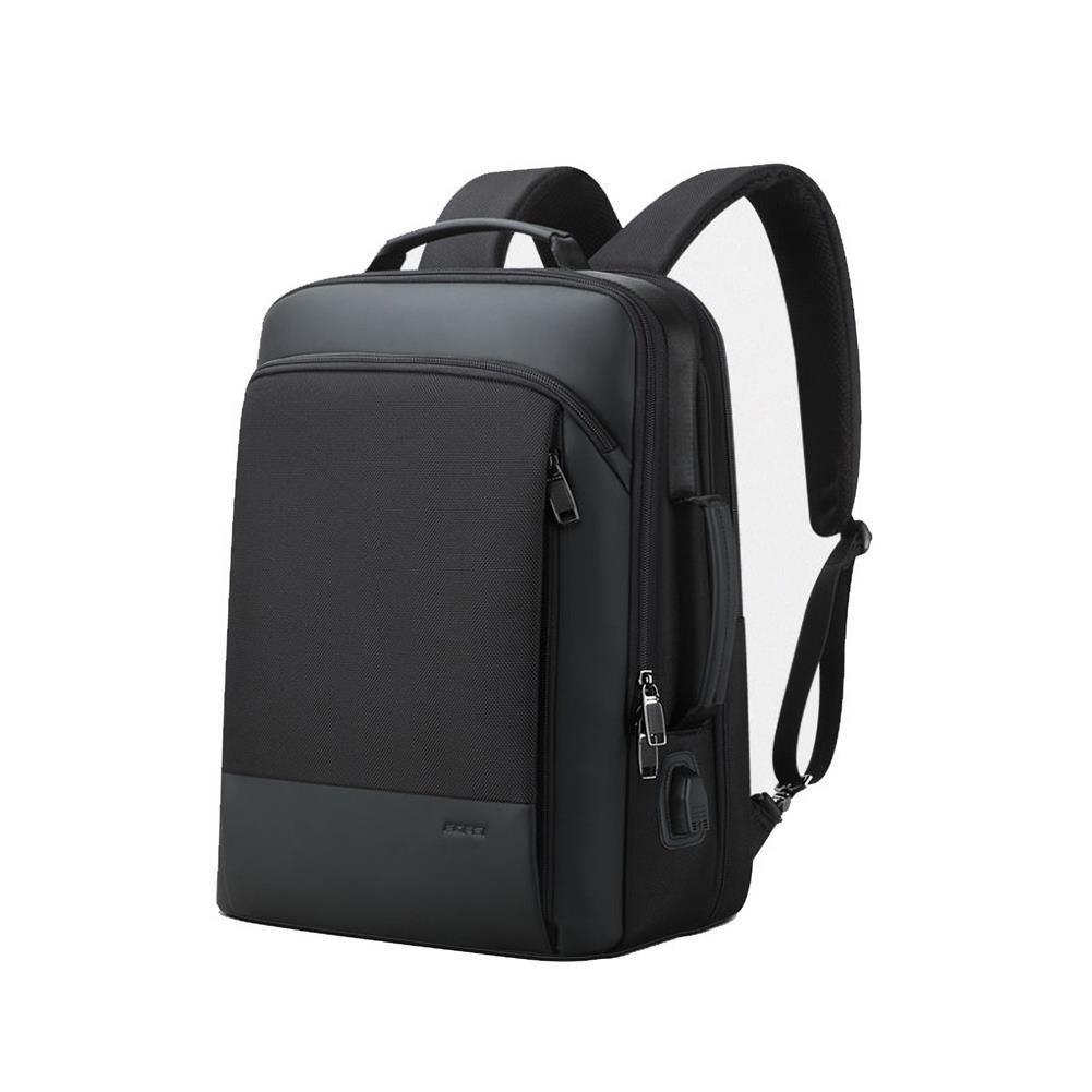 laptop-bags, cases-sleeves BOPAI USB Charging Backpack 15.6 inch Large Capacity Waterproof Fashion Business Men Laptop Bag HOB1643696 1